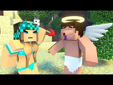 Best Love Story | Noob Angel | Minecraft Animation Life Of Steve & Alex