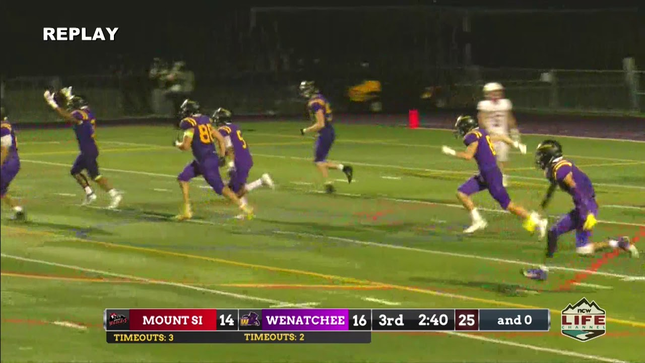 Wenatchee vs Mt Si Highlights 2019-09-06