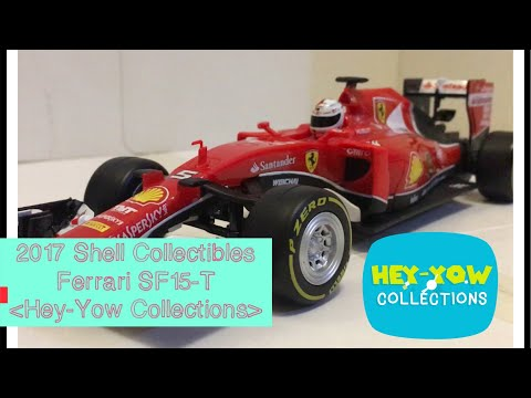 2017 Ferrari SF15-T RC collectible from Shell