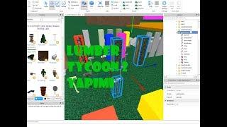 Lumber Tycoon 2 Yapâm (Studio Roblox)