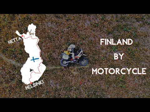 Exploring FINLAND On Motorcycle – From Helsinki to Hetta using only small roads (TET) 2020