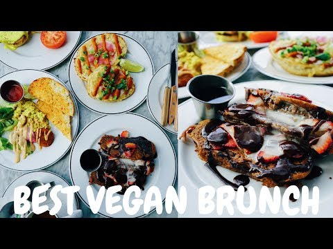 THE BEST VEGAN BRUNCH AT BAR KINDRED IN SAN DIEGO