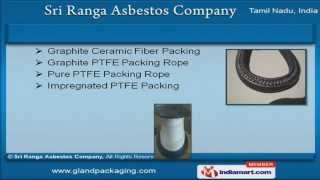Gland packing rope by Sri Ranga Asbestos Company, Coimbatore
