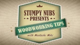 Stumpy Nubs Wood Tip #1- How To Coil A Band Saw Blade