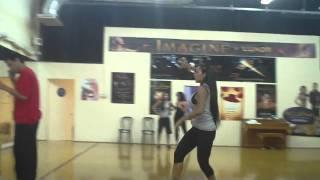Nina Mercedez Dancing Rehearsal Sexy