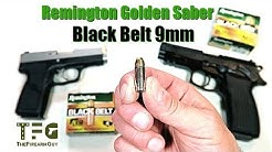 [Range Test] Remington Golden Saber Black Belt 9mm - TheFireArmGuy