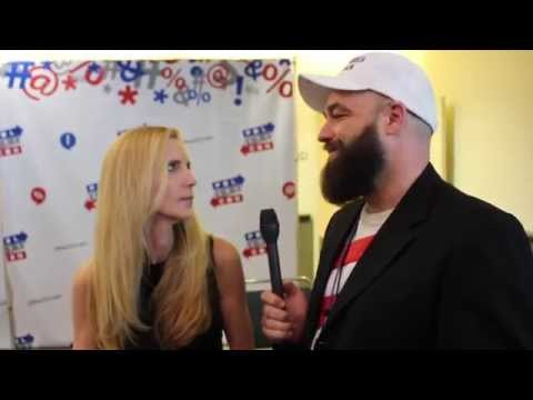 """Red State Update Meets Ann Coulter, James Carville, Paul Begala, """"Edward Snowden"""" at Politicon"""
