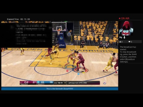 Playing NBA Live 18 With A Friends