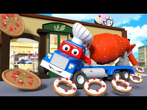 The great party in Car City ! - Carl the Super Truck in Car City | Children Cartoons