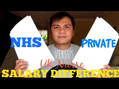 UK Nurse Salary | NHS Versus Private Hospital