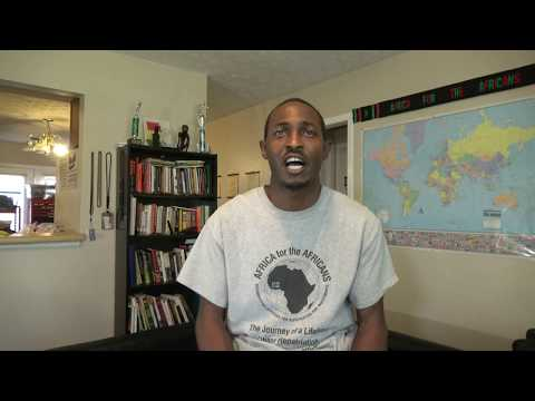 Bomani Vision of Africa for the Africans - Interview by Kofi Bruce - Raw & Uncut Footage