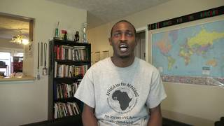 bomani vision of africa for the africans interview by kofi bruce raw uncut footage