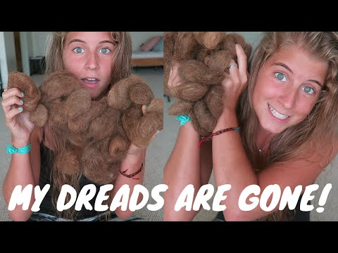 THE DREADS ARE GONE! (Part 4)
