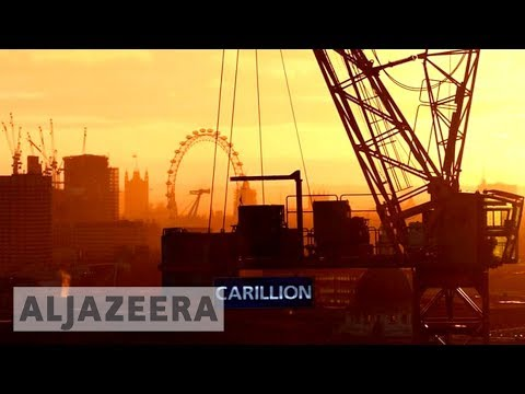 UK 🇬🇧 construction giant collapses