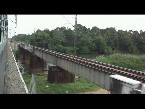 First Journey on newly Doubled Chengannur-Tiruvalla Railway Line