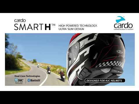 c211cd6e5f3c cardo SMARTH communication system - Designed for HJC helmets with DMC  technology - YouTube