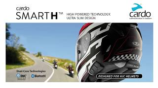 cardo SMARTH communication system - Designed for HJC helmets with DMC technology