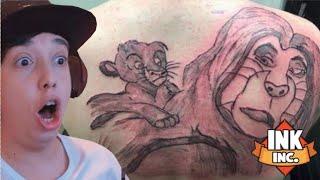 FIZ a minha PRIMEIRA TATUAGEM!! - Ink Inc. Tattoo Drawing ( JOGO GRATIS )