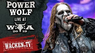 Powerwolf celebrating their holy metal mass at the 30th Wacken Open Air. Songs: 01:14 Army of the Night 05:55 Demons Are a Girl's best Friend 10:37 ...
