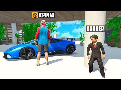 Ich PRANKE 24 STUNDEN iCrimax in GTA 5 RP!