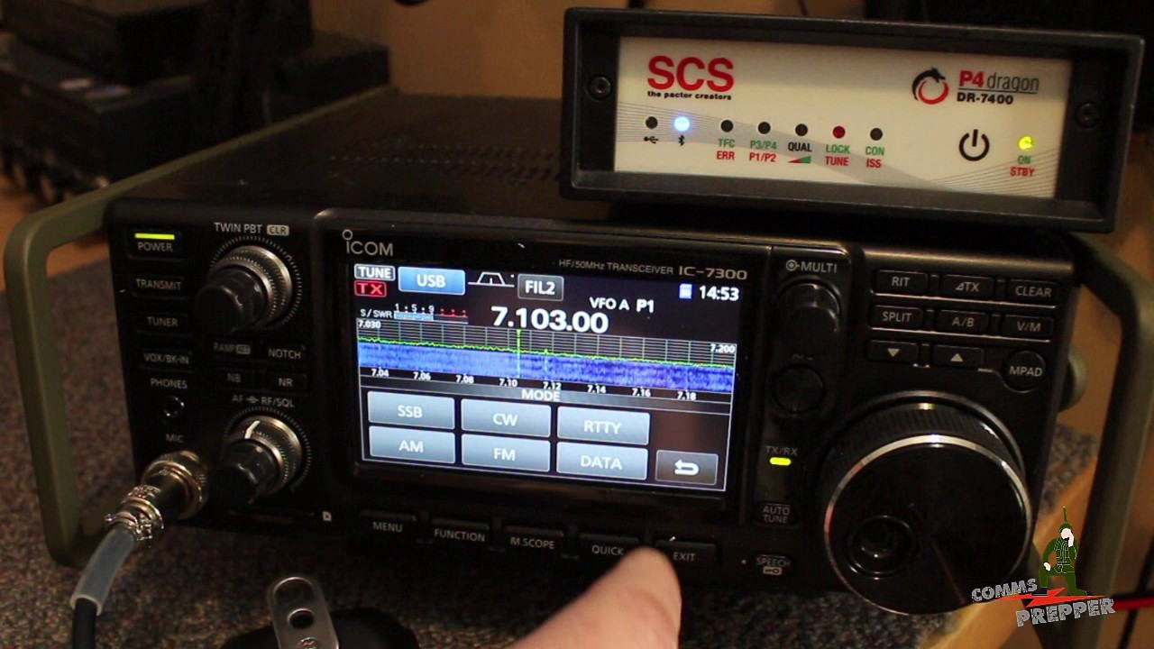 Receiving a Gmail email over HF radio with Winlink system