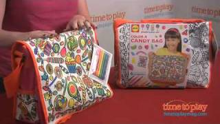 Color A Candy Bag From Alex Toys