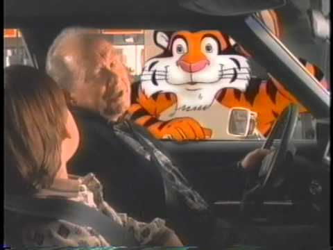 Little boy and tiger. -- 1993. -- Imperial Oil Esso television commercial.