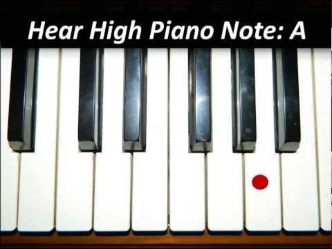 Hear Piano Note - High A