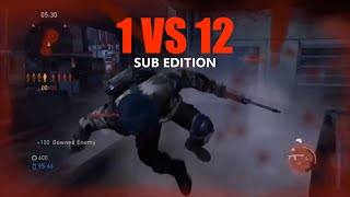 1 vs 12 Comeback (Sub Edition) - The Last of Us: Remastered Multiplayer (Hometown)