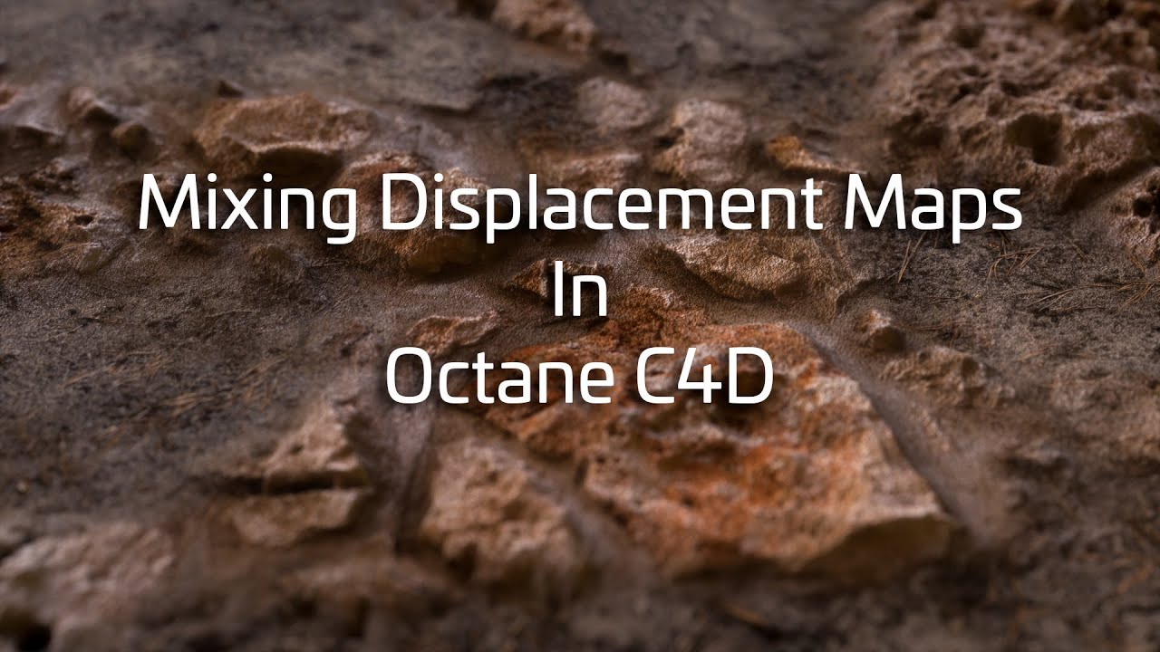 How to Mix Displacements With Octane in C4D - Lesterbanks