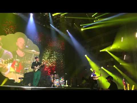 Yellow - Coldplay en Lima, Perú Estadio Nacional 5 de abril 2016 (A head full of dreams tour)