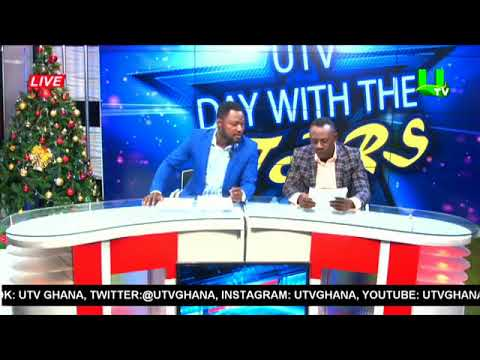 Akrobeto and Funny Face read UTV Evening News on Day With The Stars