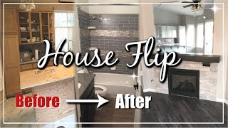 Complete House Flip Before & After | Home Renovation 90's to Modern Glam | Momma From Scratch