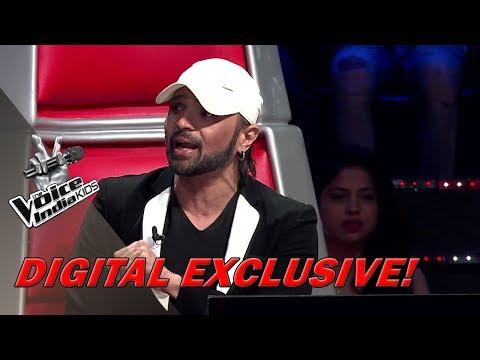 Coach Papon's Crazy Dance On Aaja Aaja | Moment | The Voice India Kids - Season 2