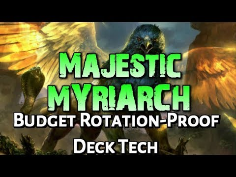 Mtg Budget Deck Tech: GW Majestic Myriarch (Standard, Rotation Proof)