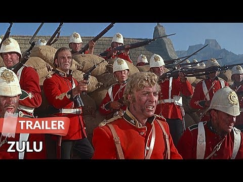 Zulu 1964 Trailer   Stanley Baker   Michael Caine   Jack Hawkins