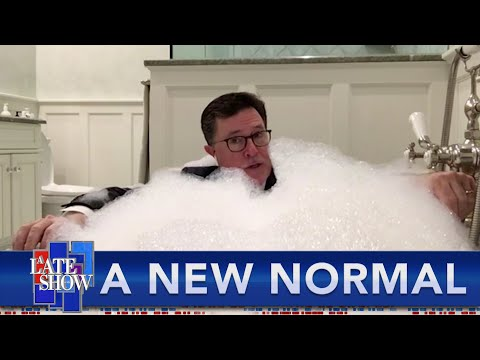 A New Normal: Stephen Colbert's Late Show Goes Remote