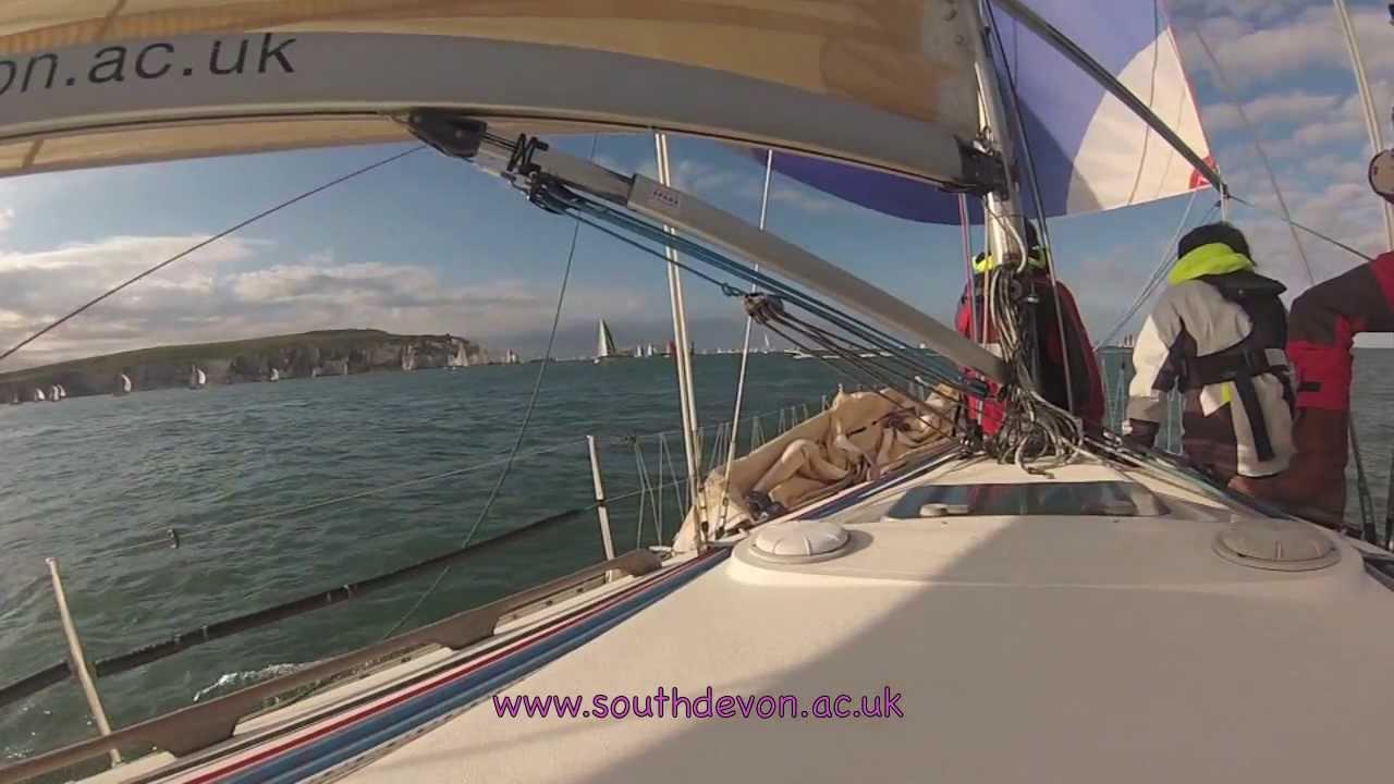 Round the Island Race South Devon College 2013