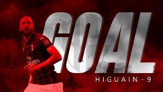GGOOOLLLLL  GONZALO HIGUAIN !!!  -  REAL MADRID 1-1 AC MILAN
