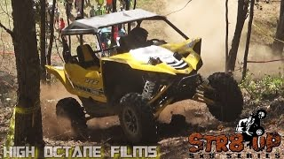 FIRST STOCK YAMAHA YXZ IN COMPETITION AT THE STR8 UP SXS SERIES RACE 5 AT FLAT NASTY OFFROAD
