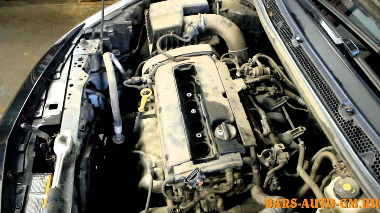 Замена свечей на Opel Astra J