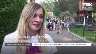 Красноярскому зоопарку Роев Ручей исполнилось 19 лет