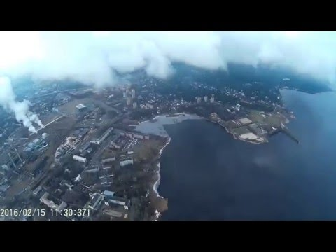 EPIC fly in the clouds with XK detect X380 drone quadcopter 2016 high altitude