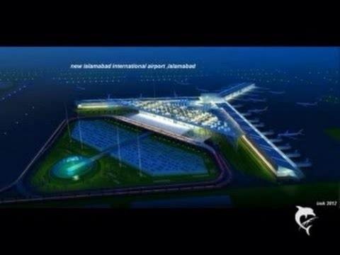 The making of new Islamabad airport benizeer airport 2014 Travel Video
