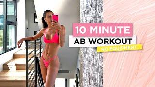 10 Minute Ab Workout // No Equipment | Sami Clarke