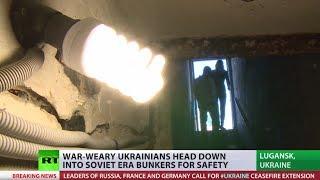 Ceasefire expires: Ukrainians head down into Soviet bunkers