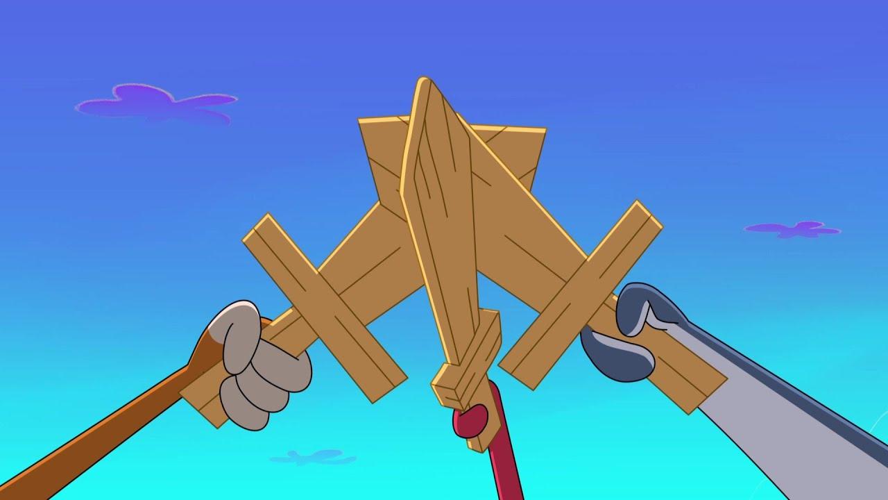 Zig & Sharko ⚔💥 3 SWORDS ⚔💥 2021 COMPILATION 🎭 Cartoons for Children