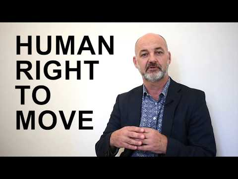 It's our human right to MOVE – so what's stopping us?