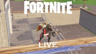 Playing Fortnite // Trash player // Use code GamerHD555 // Live 🔴