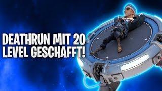 DEATHRUN MIT 20 LEVEL GESCHAFFT! 🙌 | Fortnite: Battle Royale